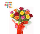 Flora Online Colorfull Roses Bunch