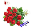 Flora Online Valentine - Red Roses Charm