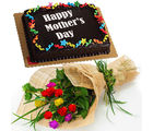 Flora Online Mother's Day - Roses Cake Combo