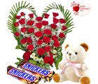 Flora Online Valentine Gift - Hearty Treat