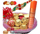 Flora Online Assorted Choco Basket Chocolate Hamper