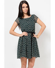 POLY GGTT PRINTED DRESS WITH LINING / DRF2006, l, xl