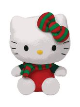 Jungly World Pvt Ltd-Hello Kitty - Red Christmas O...