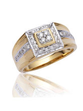 ASMA DIAMOND MEN RING, Si Gh, Dgla