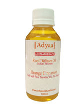 Adyaa Naturals Orange Cinnamon Reed Diffuser Oil R...