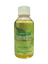 Adyaa Naturals Mint Reed Diffuser Oil Refill Inclu...