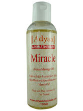 Adyaa Naturals Miracle (Frankinscence And Myrrh) Massage Oil 100ml