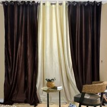 Beautiful Crush Combo Curtain   set of 3 pcs