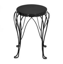 Swizzle Garden Table-@home By Nilkamal, Bronze