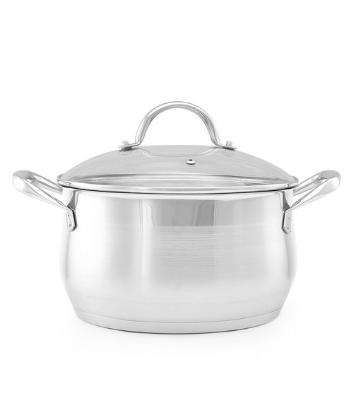Bergner 14 cm Casserole with Glass Lid