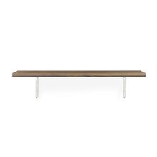 Classic & Juan Medium Wall Shelf - @home by Nilkamal, Walnut