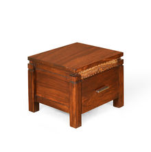 Impression Night Stand - @home by Nilkamal,  brown