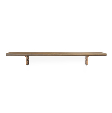 Romantic & Juan Big Wall Shelf - @home by Nilkamal, Walnut