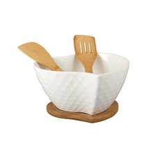Salad Bowl - @home Nilkamal,  white