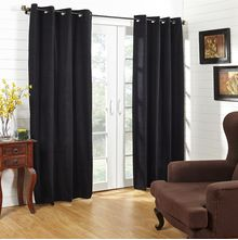 44'x84' Moushi Door Curtain - @home Nilkamal,  black