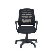Arrow Mid Back Office Chair - @home Nilkamal,  black