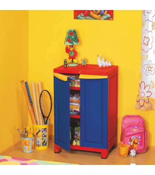Freedom Cabinet Small - @home by Nilkamal,  weather brown