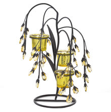 Table 3 Pieces Votive Stand- @home by Nilkamal, Yellow