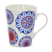 Aroha Suzani Coffee Mug - @home by Nilkamal, Indigo