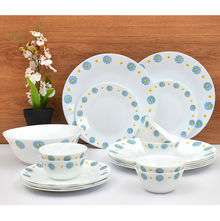Laopala Diva Saphire Charm 19 Pieces Dinner Set - Ivory