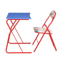 Memo Computer Table & Chair Set - @home by Nilkamal, Multicolor
