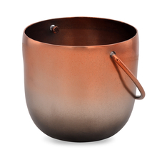 Cleopatra Metal Small Tea Light Holder - @home by Nilkamal, Rose Gold