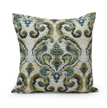Damask 40 cm x 40 cm Filled Cusion - @home by Nilkamal, Multicolor