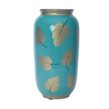 Enchanted Forest Small Vase - @hoome by Nilkamal, Sea Green