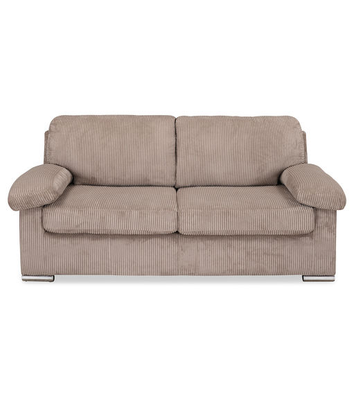 Andy 3 Seater Sofa cum Bed - @home By Nilkamal, Mocha Brown