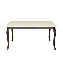 Neo Athens 6 Seater Dining Table - @home by Nilkamal, Walnut