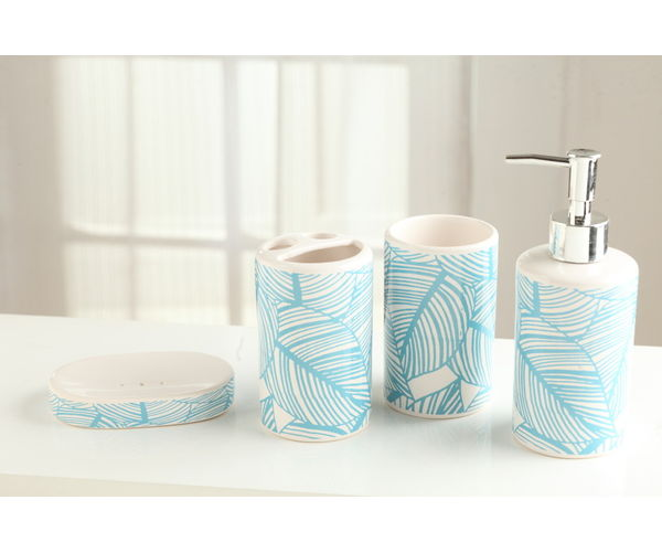 Bathroom Set Petals - @home Nilkamal