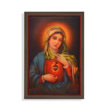 Jesus Mary 3D 40 x 60 cm Picture Frame - @home by Nilkamal