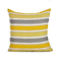 Zinnia 40 x 40 cm Cushion Cover- @home by Nilkamal, Yellow