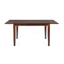 Spectrum 4 Seater Extendable Dining Table - @home by Nilkamal, Antiquer Oak