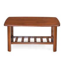 Nilkamal Rockford Coffee Table, Dirty Oak