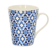 Aroha Jharokha Coffee Mug - @home by Nilkamal, Indigo