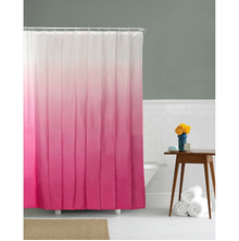 Gradation 180 cm x 200 cm Shower Curtain - @home by Nilkamal, Pink