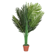 Palm Tree with Pot - @home by Nilkamal, Green