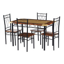 Nilkamal Stratus 1+ 4 Dining Set - Black