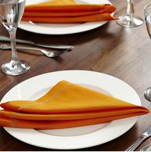 16'x16' Perky Radiance Table Napkin -@home Nilkamal,  orange