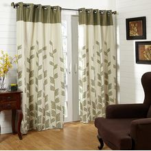 44'x84' Victoria Door Curtain - @home Nilkamal,  green