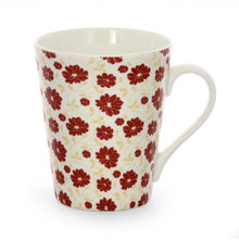 Aroha Floral Coffee Mug - @home by Nilkamal, Maroon