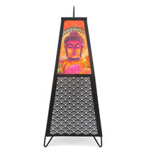 Conical Paper & Metal Table Lamp - @home by Nilkamal, Multicolor