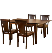 Spectrum 4 Seater Dining Kit - @home by Nilkamal, Antique Oak