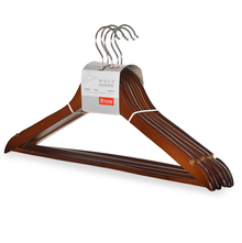 Wood Hangers 5 Pieces - @home by Nilkamal
