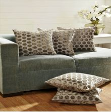 16'x16' Arista Set of 5 Cushion covers - @home Nilkamal,  silver