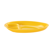 Small Solid Chip and Dip - @home Nilkamal,  yellow