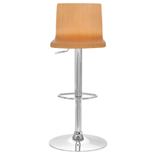 Liza Bar Stool -@home by Nilkamal, White Oak