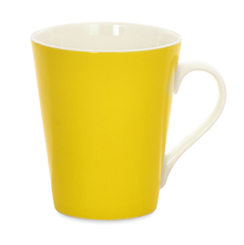 Aroha Solid Coffee Mug - @home by Nilkamal, Yellow