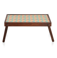 Tryst Bed Tray - @home By Nilkamal, Brown